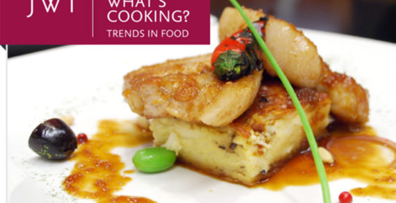 Food and Beverage Trends for 2013