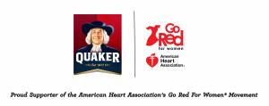 THE QUAKER OATS COMPANY VALENTINE'S DAY AHA GO RED