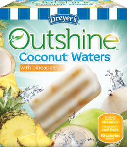 NESTLE DREYER'S ICE CREAM COMPANY COCONUT WATERS BARS