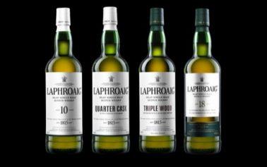 JKR Redesigns Laphroaig Whisky Packaging