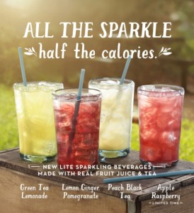 CARIBOU COFFEE COMPANY, INC. LITE SPARKLING TEAS AND JUICES