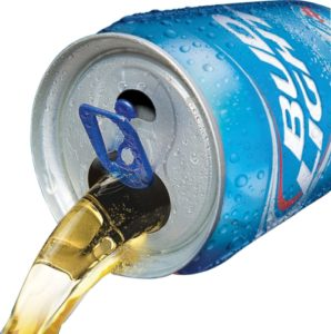 BUD LIGHT VENTED CAN