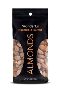 WONDERFUL ALMONDS ROASTED AND SALTED