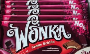 Wonka chocolate bar launch
