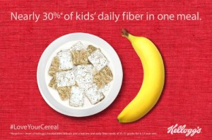 KELLOGG COMPANY LOVE YOUR CEREAL