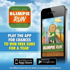 BLIMPIE NEW APP