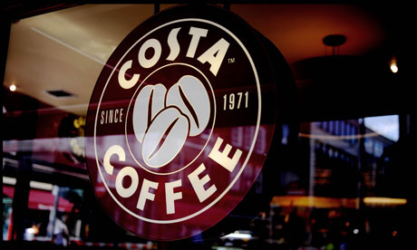 Costa Named the UK's Favourite Coffee Shop for its 4th Year in a Row
