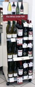 7-ELEVEN, INC. WINE DISPLAY