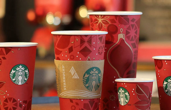 starbucks unveils holiday 2013 paper cup designs fab news