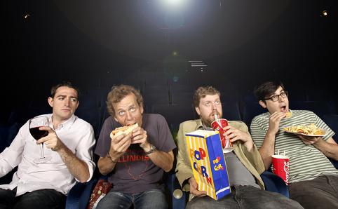 Cinema Snacking Sabotages Advertising Effects