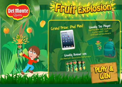 Enjoy Every Bit of Del Monte® Fruit Explosion
