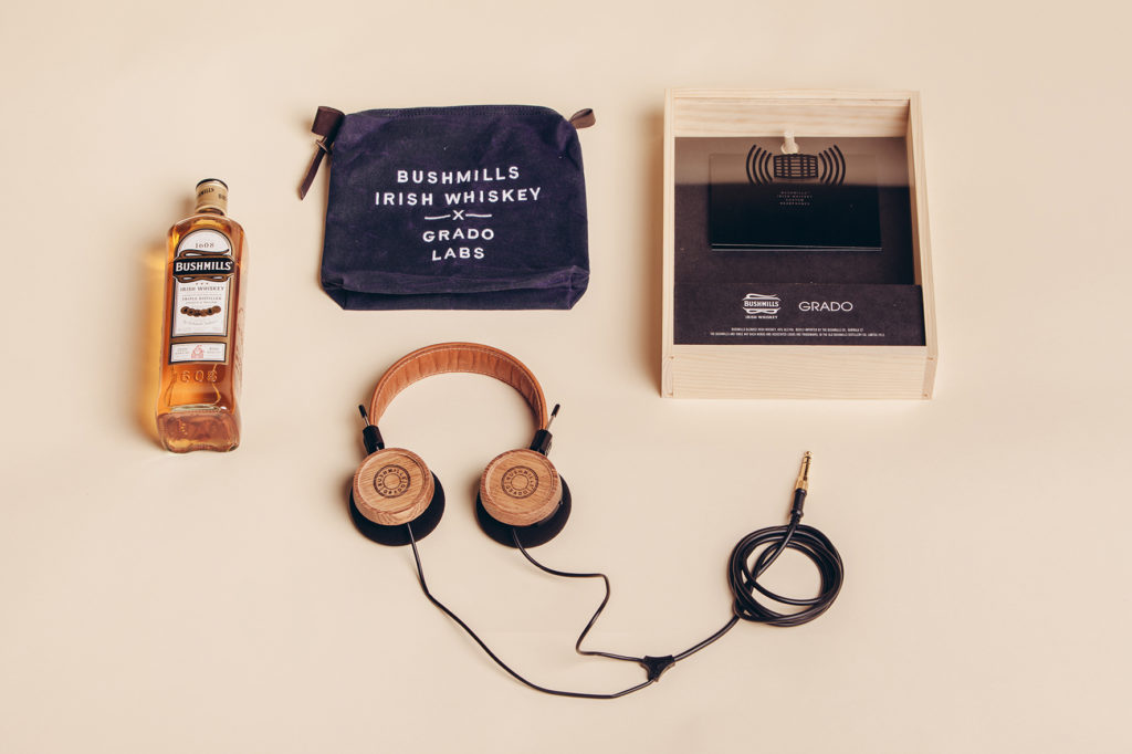 Bushmills x Grado Labs Headphones Set