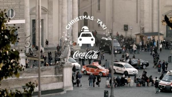 Coca-Cola's Christmas Ad Encourages People to Share a Cab