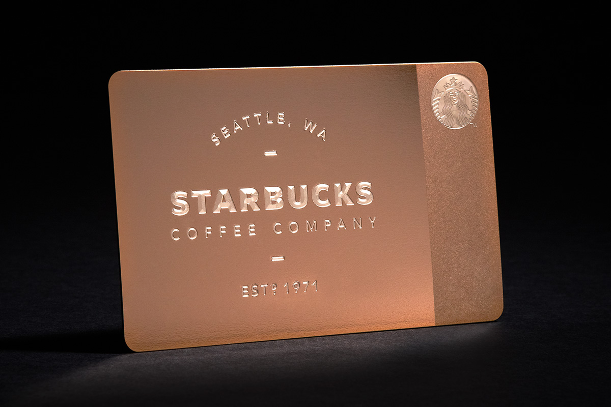 Starbucks Offers New Limited Edition Metal Gift Card in Time of ...
