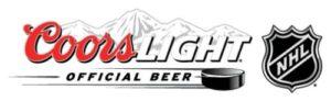 COORS LIGHT NHL LOGO