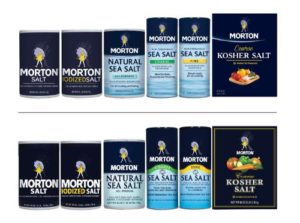 MORTON SALT, INC. PRODUCTS REFRESHED