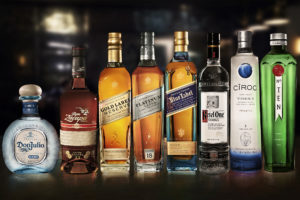 Diageo Reserve Collection - Group Product Shot. Photo credit - Ian Derry