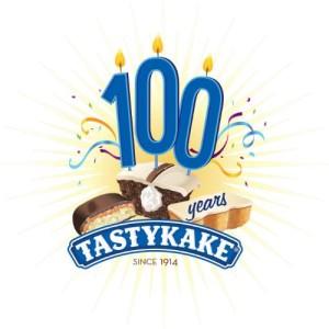 TASTYKAKE 100 YEARS LOGO