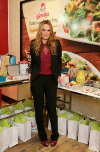 Wendy's Partners With Style Icon Molly Sims To Launch New Salad Collection