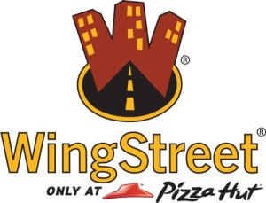 PIZZA HUT WINGSTREET LOGO