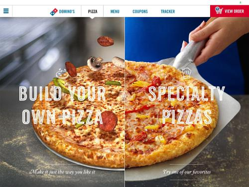 Dominos Pizza Launches iPad App
