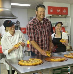 Pizza Hut and Blake Shelton - restaurants