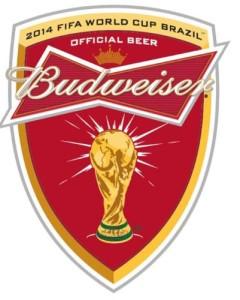 BUDWEISER 2014 FIFA WORLD CUP LOGO