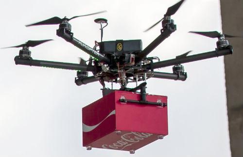 Coke-Drones-fly