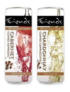 Friends Fun Wine Coffee Wine