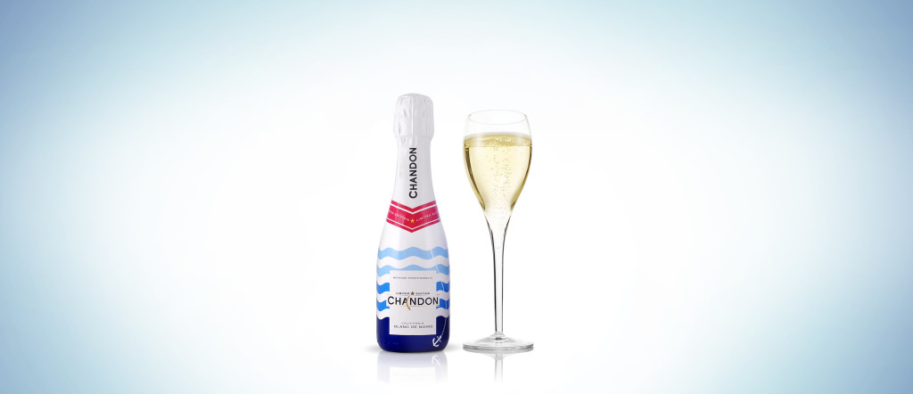 Chandon Summer 14 Bottle + glass
