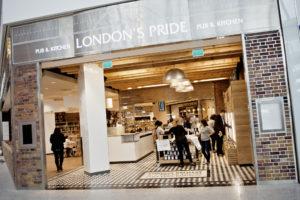London's Pride at London Heathrow Terminal 2 The Queen's Terminal 2