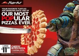 Pizza Hut And Teenage Mutant Ninja Turtles