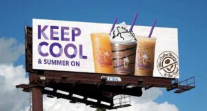 The Coffee Bean and Tea Leaf Keep Cool Campaign