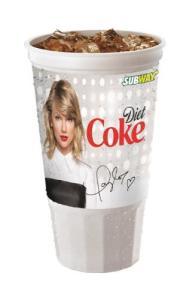 SUBWAY Restaurants Taylor Swift