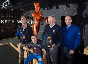 Europe Storms to Victory at JOHNNIE WALKER® Ryder Cup Media Event