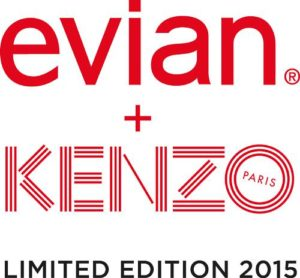 evian and KENZO