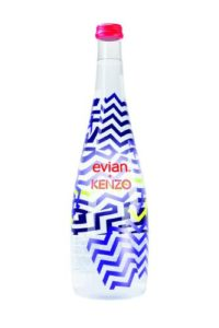 evian and KENZO Bottle