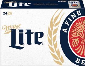 Miller Lite Packaging