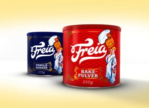 Freia baking products