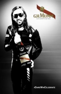 MUMM Launches The World's First Double Screen Music Video With David Guetta