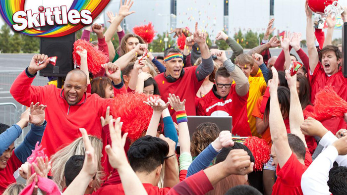 Skittles Makes Super Bowl XLIX Awesomer with its First Super Bowl Ad