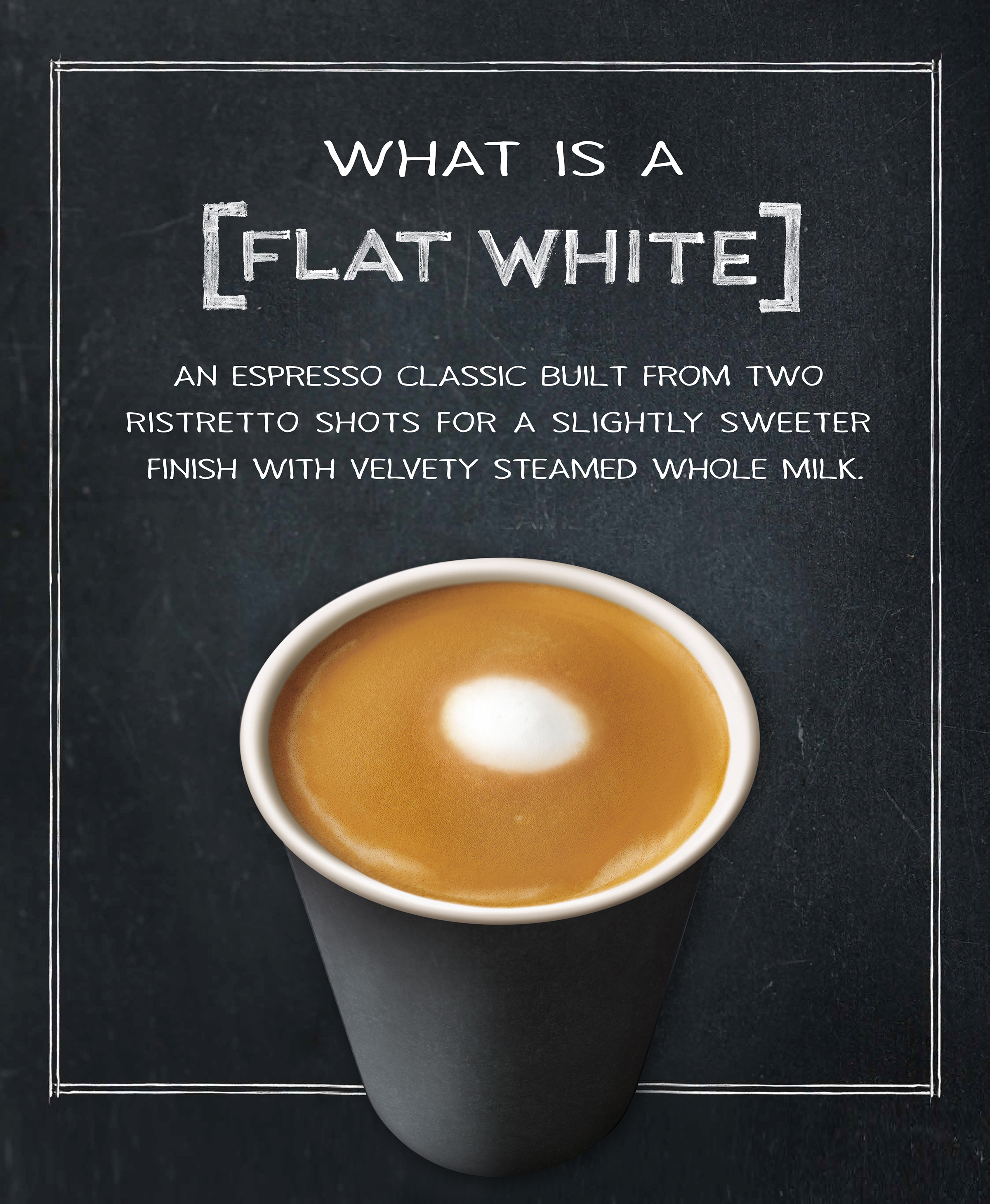 Starbucks Honours Coffee Artistry With New Flat White