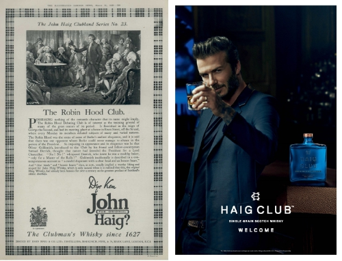 HAIG CLUB(TM) Scotch Whisky Brings 1920s Adverts to Life