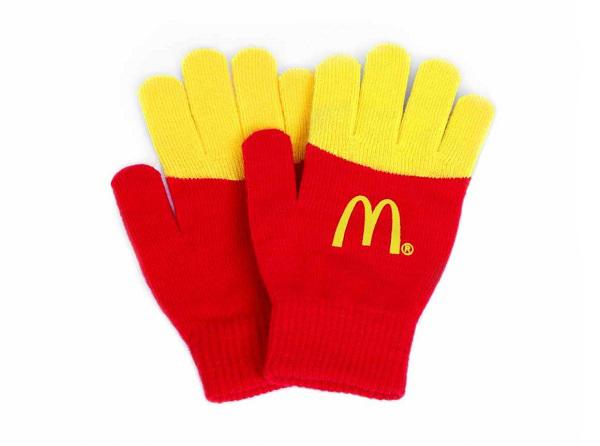 McDonald's- Fry gloves1