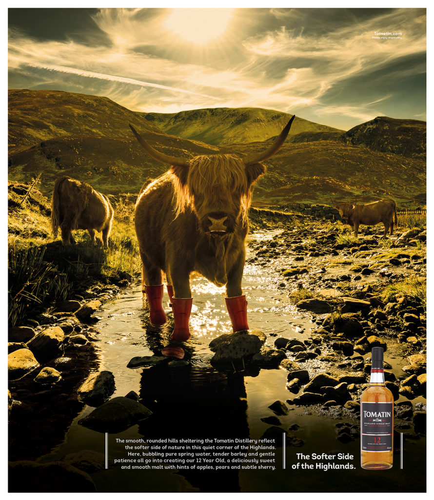 Tomatin Whisky Campaign