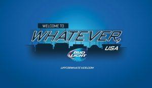 Bud Light Whatever USA Logo