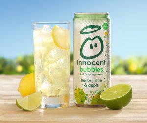 innocent bubbles Lemon and Lime