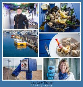 dorset seafood 2015 Innes & Carole Spencer