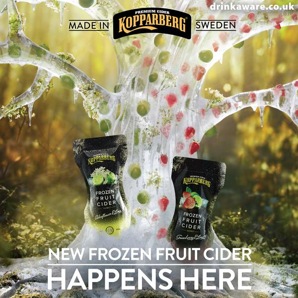 Kopparberg Kicks Off £5m Frozen Fruit Summer Campaign
