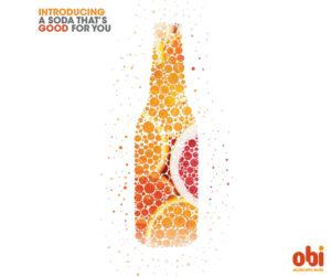 Introducing Obi good-for-you soda